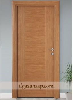 Pvc Kapı Kademeli Parlak Bambu