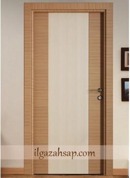 Pvc Kapı Kademeli Zebrano -Beyaz Coco