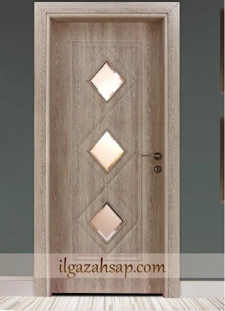Pvc Kapı Soft B. Çınar Camlı