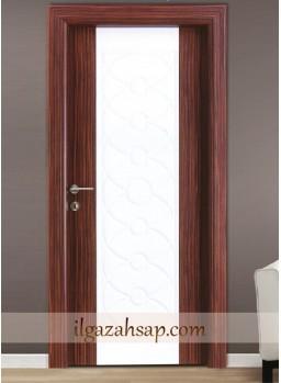 Pvc Kapı Abanoz - Beyaz