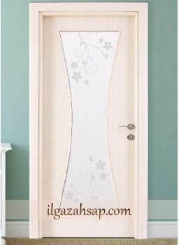 Pvc Kapı Beyaz Coco Camlı