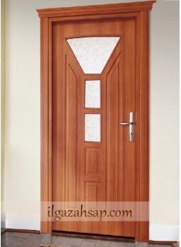 Pvc Kapı İtalyan Ceviz Camlı