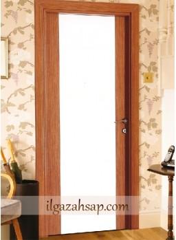 Pvc Kapı Parlak Bambu - Parlak Beyaz