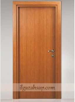 Pvc Kapı Koyu Bambu 2